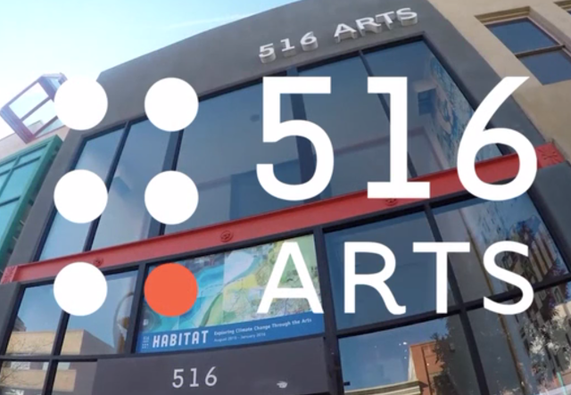 Members of 516 ARTS make art happen! exhibition image