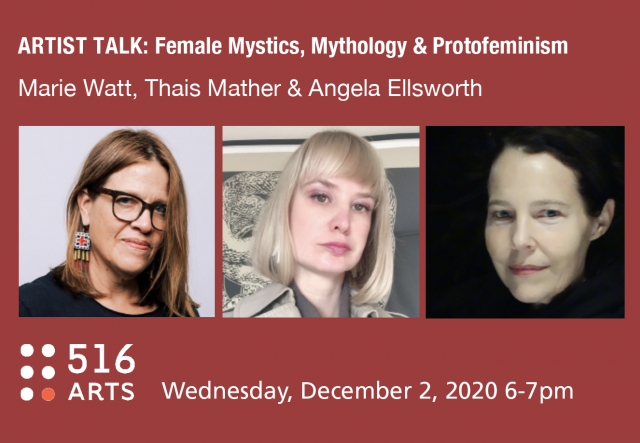 ARTIST TALKS: Female Mystics, Mythology, and Protofeminism  exhibition image