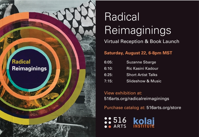 Radical Reimaginings Virtual Opening exhibition image