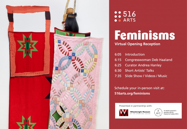 Feminisms Virtual Opening exhibition image