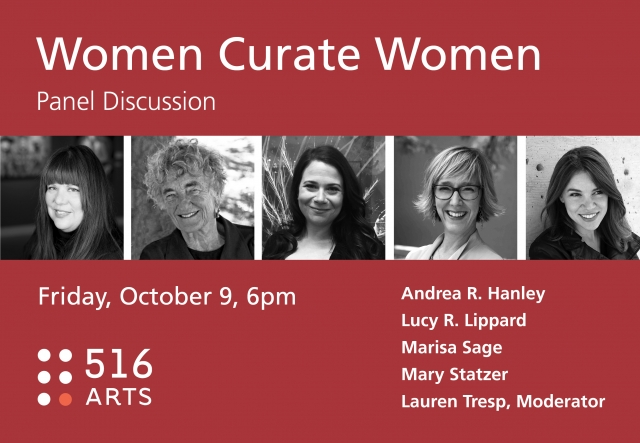 PANEL DISCUSSION: Women Curate Women exhibition image