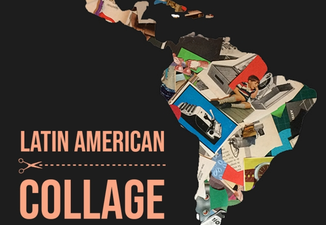 "ARTIST TALK: Latin American Collage with Enrique ""Kike"" Congrains exhibition image"